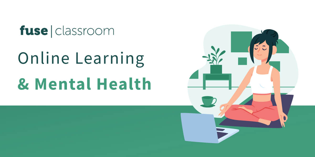 Online learning and mental health
