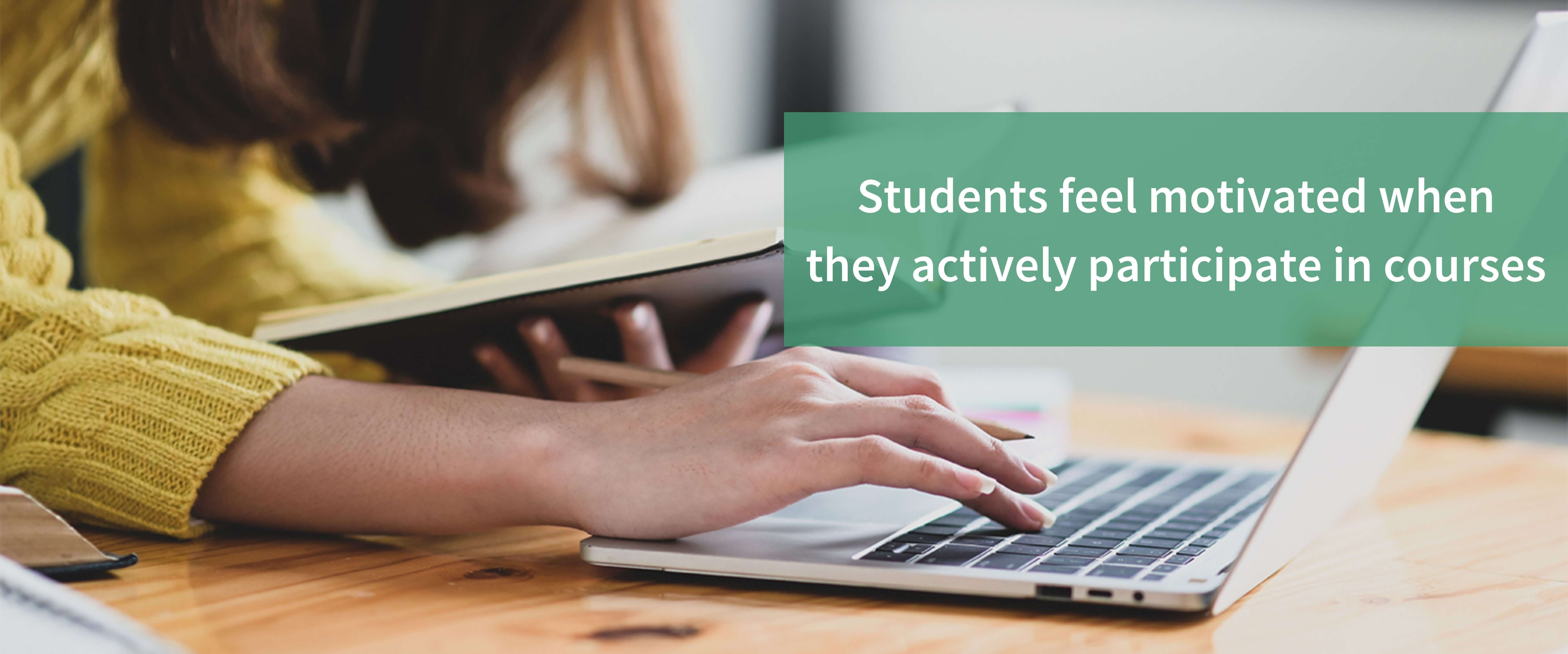 Interactive courses help increase engagement in online learning